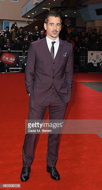 Colin Farrell attends the Dare Gala Screening of 'The Lobster' during the BFI London Film Festival at Vue West End on October 13 2015 in London...