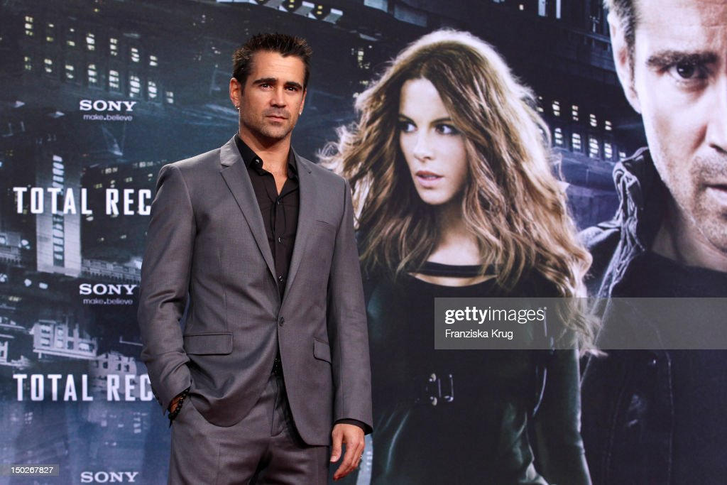 <a gi-track='captionPersonalityLinkClicked' href=/galleries/search?phrase=Colin+Farrell&family=editorial&specificpeople=202154 ng-click='$event.stopPropagation()'>Colin Farrell</a> attends the German premiere of 'Total Recall' at Sony Center on August 13, 2012 in Berlin, Germany.