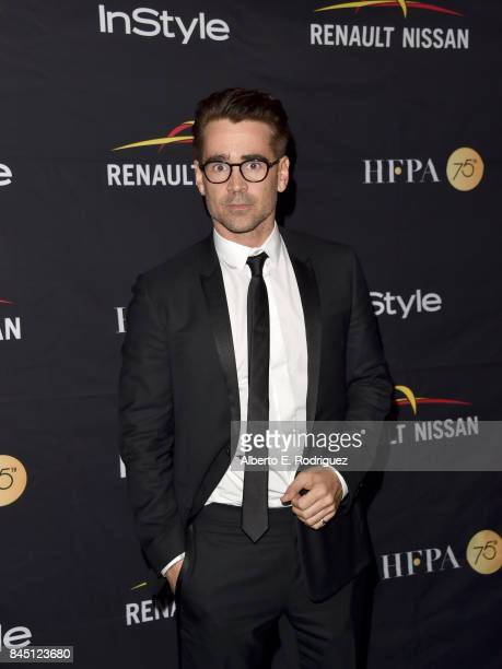 Colin Farrell attends the HFPA InStyle annual celebration of 2017 Toronto International Film Festival at Windsor Arms Hotel on September 9 2017 in...