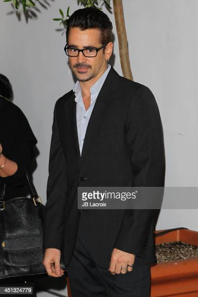 Colin Farrell attends The Hollywood Foreign Press Association And InStyle 2014 Miss Golden Globe Announcement/Celebration at Fig Olive Melrose Place...