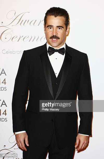 Colin Farrell attends the Irish Film And Television Awards on April 5 2014 in Dublin Ireland