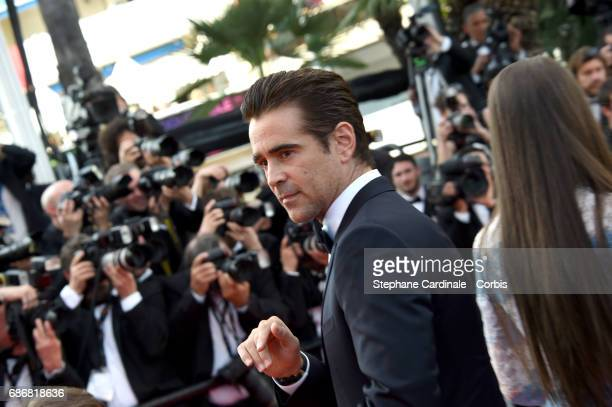 Colin Farrell attends 'The Killing Of A Sacred Deer' premiere during the 70th annual Cannes Film Festival at Palais des Festivals on May 22 2017 in...