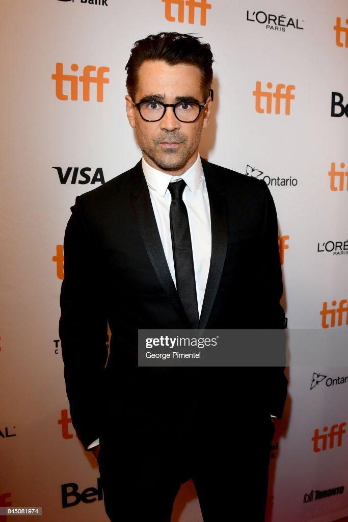Colin Farrell attends 'The Killing of a Sacred Deer' premiere during the 2017 Toronto International Film Festival at The Elgin on September 9, 2017 in Toronto, Canada.