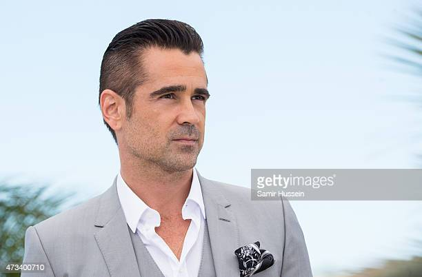 Colin Farrell attends the 'Lobster' Photocall during the 68th annual Cannes Film Festival on May 15 2015 in Cannes France