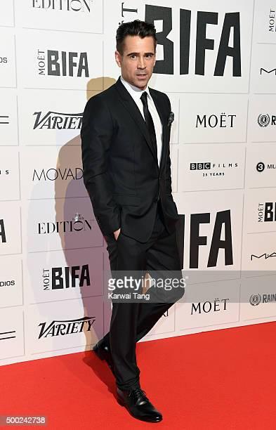 Colin Farrell attends the Moet British Independent Film Awards at Old Billingsgate Market on December 6 2015 in London England