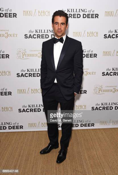 Colin Farrell attends the official after party for 'The Killing of a Sacred Deer' at the Nikki Beach popup during the 70th annual Cannes Film...