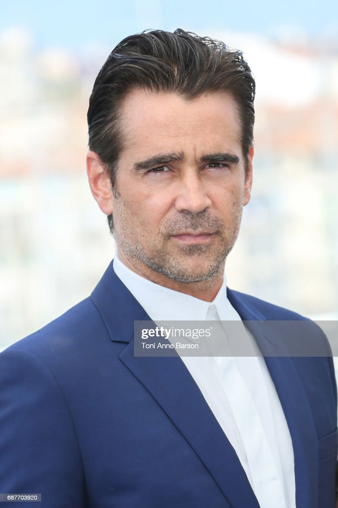 Colin Farrell attends the 'The Beguiled' Photocall during the 70th annual Cannes Film Festival at Palais des Festivals on May 24, 2017 in Cannes, France.