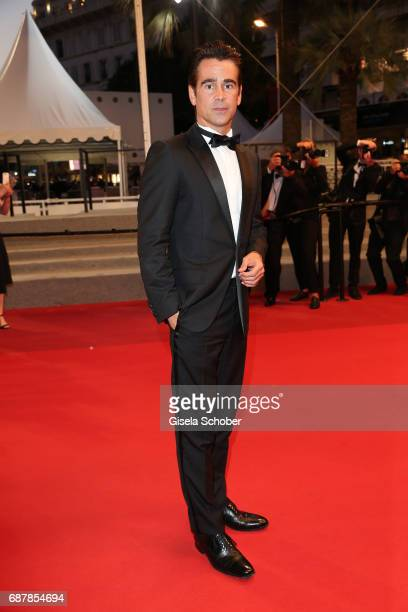 Colin Farrell attends the 'The Beguiled' screening during the 70th annual Cannes Film Festival at Palais des Festivals on May 24 2017 in Cannes France