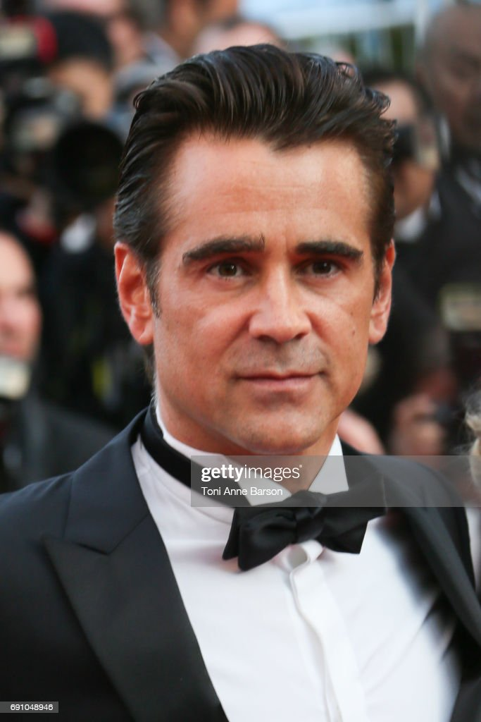 Colin Farrell attends the 'The Beguiled' screening during the 70th annual Cannes Film Festival at Palais des Festivals on May 24, 2017 in Cannes, France.