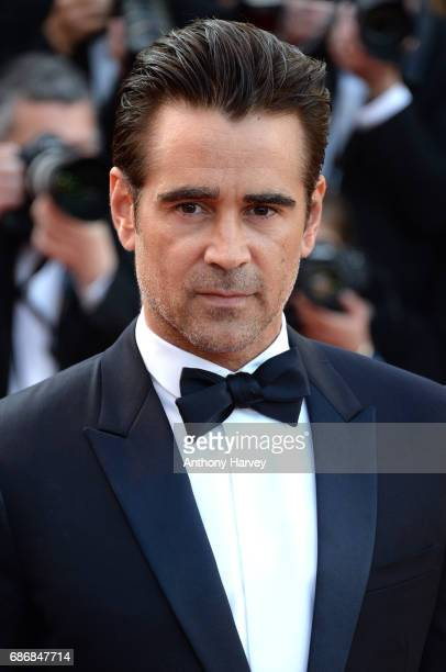 Colin Farrell attends the 'The Killing Of A Sacred Deer' screening during the 70th annual Cannes Film Festival at Palais des Festivals on May 22 2017...