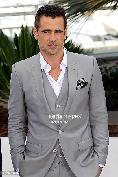 Colin Farrell attends the 'The Lobster' photocall during the 68th annual Cannes Film Festival on May 15 2015 in Cannes France