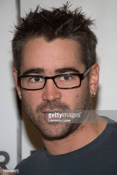 Colin Farrell during 5th Annual Tribeca Film Festival First Snow Premiere at Schimmel Center in New York City New York United States