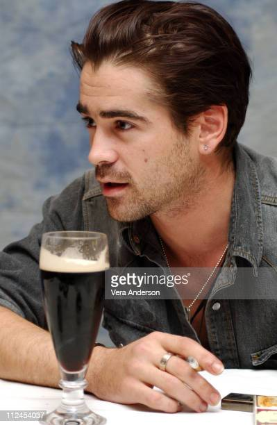 Colin Farrell during 'A Home at the End of the World' Press Conference with Colin Farrell at Regent Beverly Wilshire Hotel in Beverly Hills United...