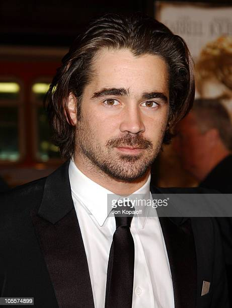Colin Farrell during 'Alexander' World Premiere Arrivals at Grauman's Chinese Theater in Hollywood California United States