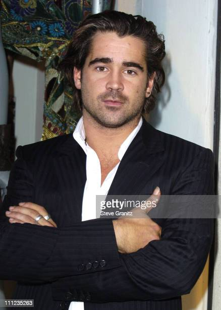 Colin Farrell during Colin Farrell Unveils 'Alexander' Costumes in Windows of Barneys Beverly Hills at Barneys in Beverly Hills California United...