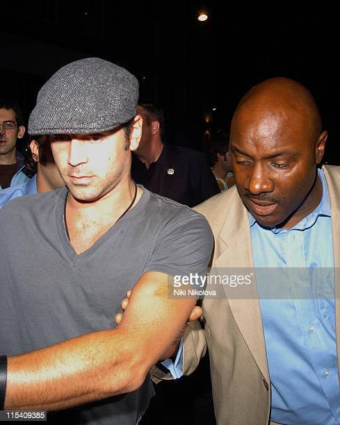 Colin Farrell during 'Miami Vice' London Premiere After Party at Sanderson Hotel in London Great Britain