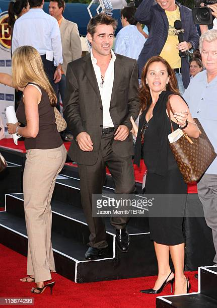 Colin Farrell during 'Miami Vice' World Premiere Arrivals at Mann Village Westwood in Westwood California United States