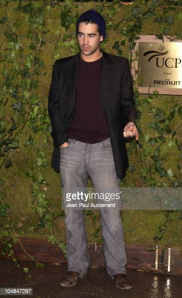 Colin Farrell during 'The Recruit' Screening to benefit United Cerebral Palsy at Directors Guild of America in Los Angeles California United States