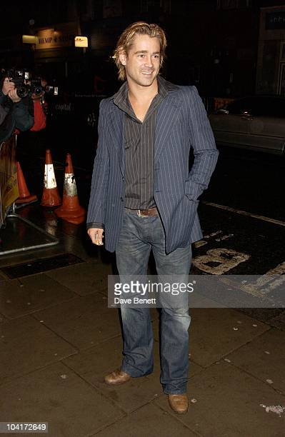 Colin Farrell Intermission Movie Premiere And After Party At The Electric Cinema Portobello Road London