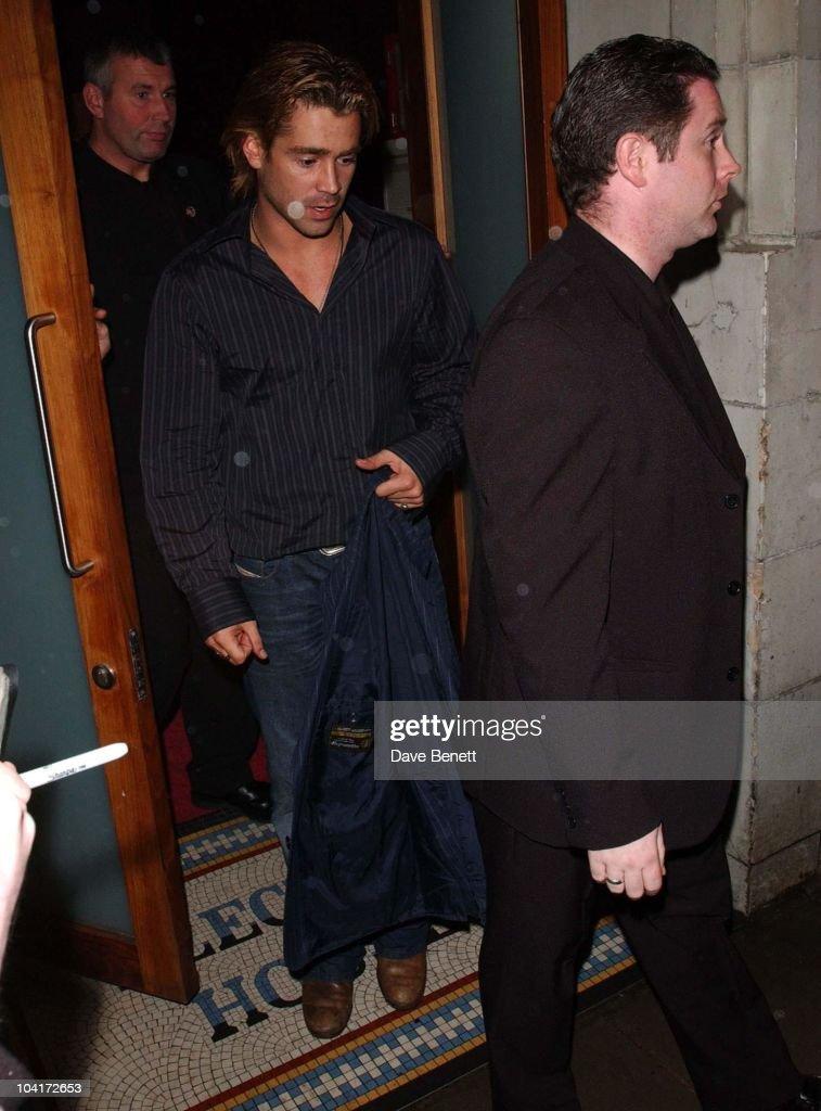 Colin Farrell, Intermission Movie Premiere At The Electric Cinema, Portobello Road, London