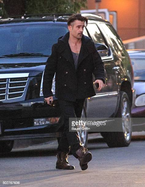 Colin Farrell is seen on December 28 2015 in Los Angeles California