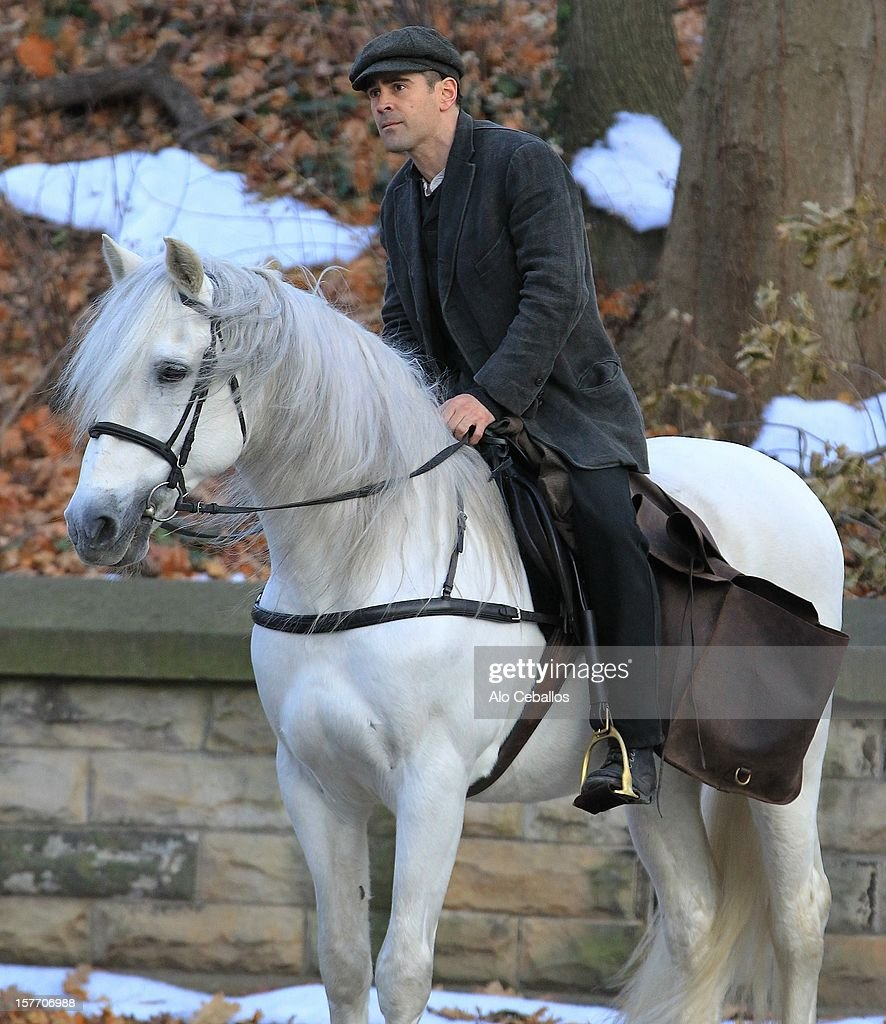 <a gi-track='captionPersonalityLinkClicked' href=/galleries/search?phrase=Colin+Farrell&family=editorial&specificpeople=202154 ng-click='$event.stopPropagation()'>Colin Farrell</a> is seen on the set of 'Winter's Tale' in Brooklyn on December 5, 2012 in New York City.