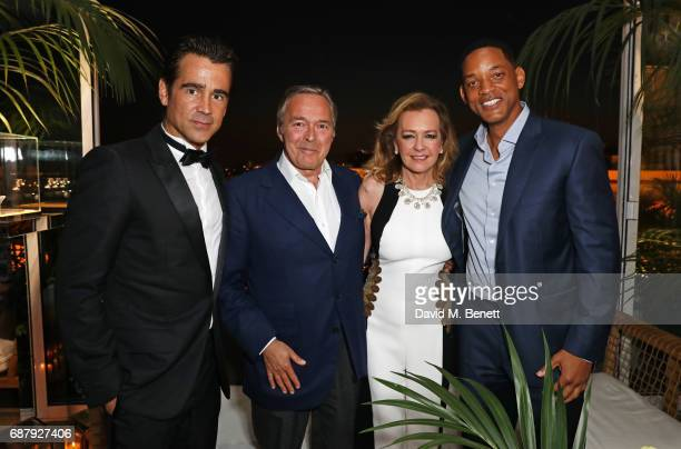 Colin Farrell KarlFriedrich Scheufele CoPresident of Chopard Caroline Scheufele Artistic Director and CoPresident of Chopard and Will Smith attend...