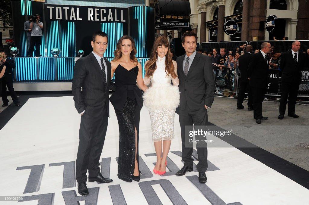 'Total Recall' - UK Film Premiere