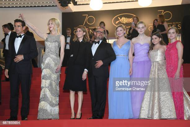 Colin Farrell Nicole Kidman director Sofia Coppola producer Youree Henley Kirsten Dunst Elle Fanning Addison Riecke and Angousie Rice attends the...