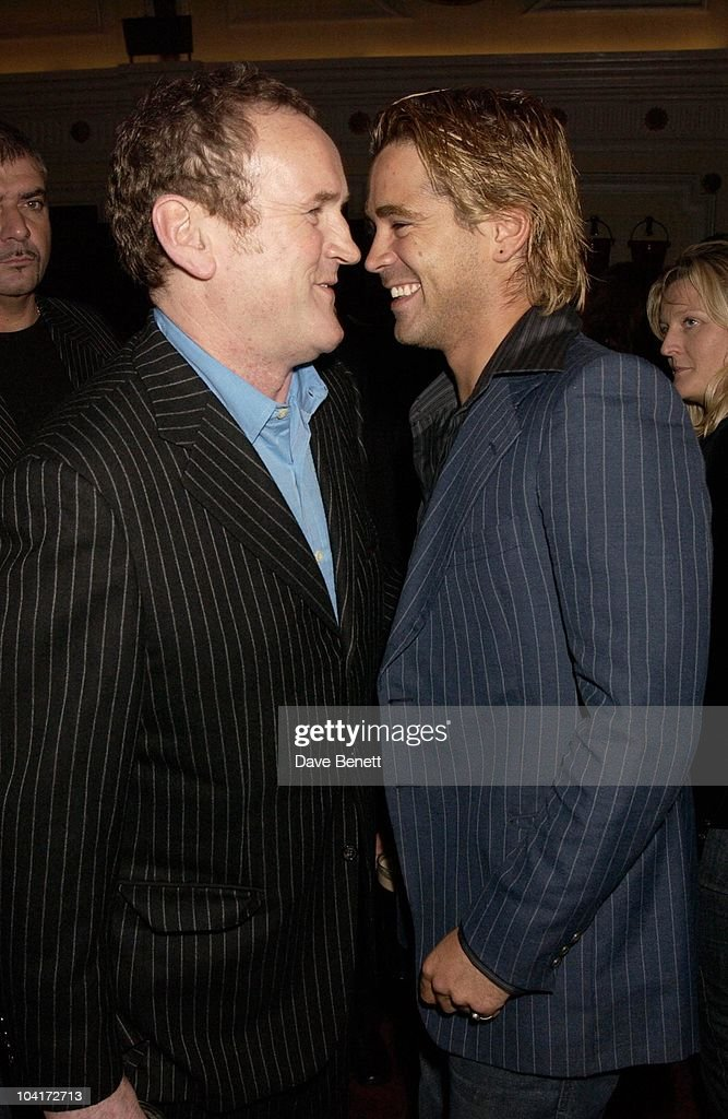 Colin Farrell With Colm Meaney, Intermission Movie Premiere And After Party At The Electric Cinema, Portobello Road, London