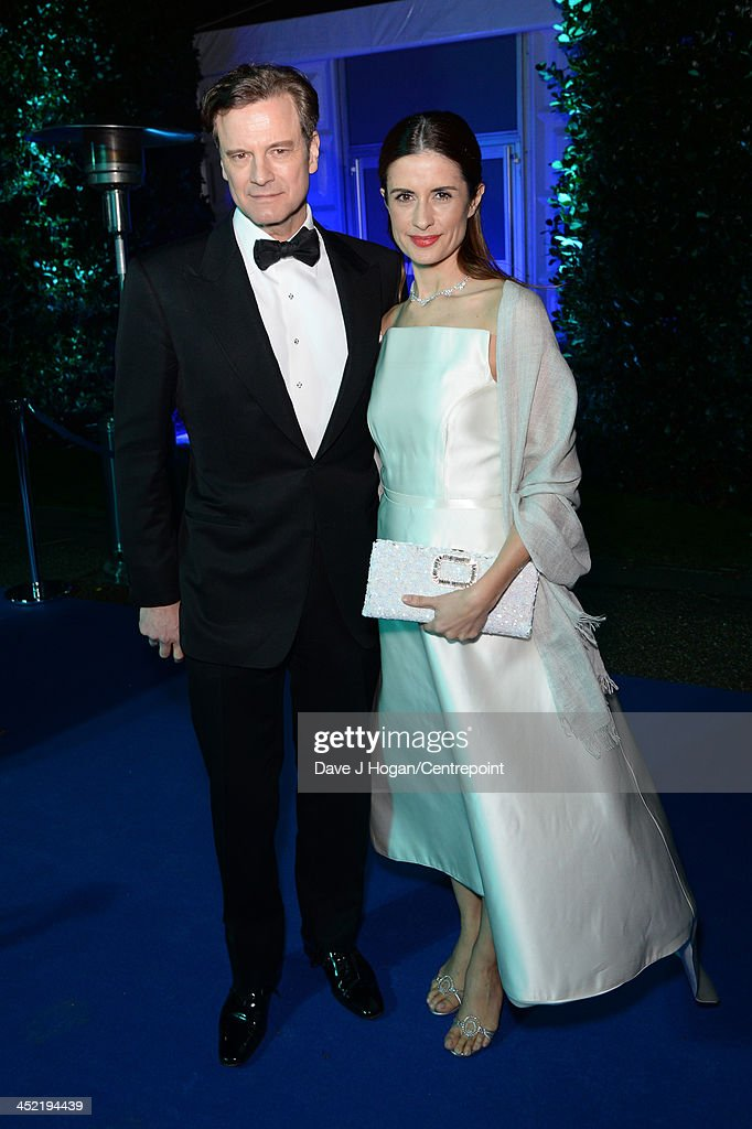 <a gi-track='captionPersonalityLinkClicked' href=/galleries/search?phrase=Colin+Firth&family=editorial&specificpeople=201620 ng-click='$event.stopPropagation()'>Colin Firth</a> and Livia Firth attend the Winter White Gala In Aid Of Centrepoint on November 26, 2013 in London, England.