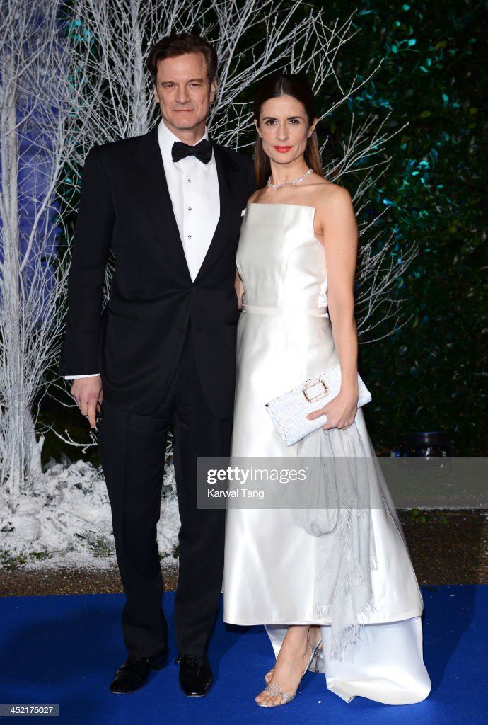 <a gi-track='captionPersonalityLinkClicked' href=/galleries/search?phrase=Colin+Firth&family=editorial&specificpeople=201620 ng-click='$event.stopPropagation()'>Colin Firth</a> and Livia Firth attend the Winter Whites Gala in aid of Centrepoint at Kensington Palace on November 26, 2013 in London, England.