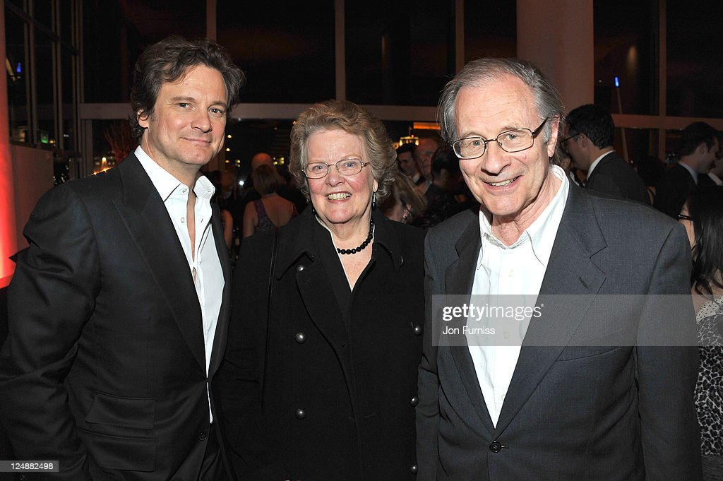 <a gi-track='captionPersonalityLinkClicked' href=/galleries/search?phrase=Colin+Firth&family=editorial&specificpeople=201620 ng-click='$event.stopPropagation()'>Colin Firth</a> and parents attend the ' Tinker, Tailor, Soldier, Spy' UK premiere after party on September 13, 2011 in London, England.