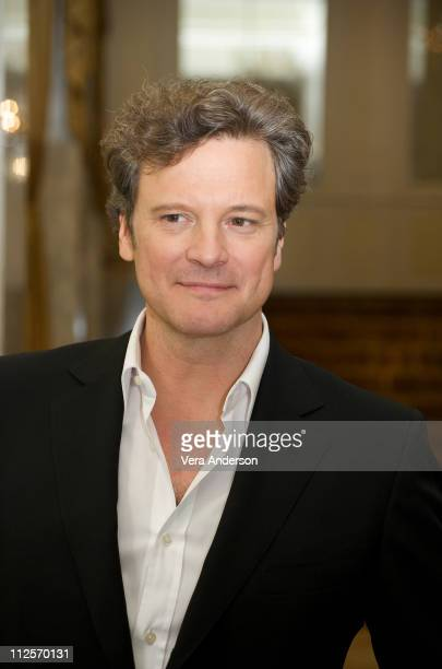 Colin Firth at the 'A Single Man' press conference at the The Beverly Wilshire Hotel on November 5 2009 in Beverly Hills California