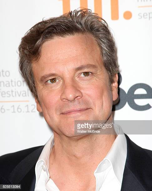 Colin Firth attending the The 2012 Toronto International Film FestivalRed Carpet Arrivals for 'Arthur Newman' at the Elgin Theatre in Toronto on...