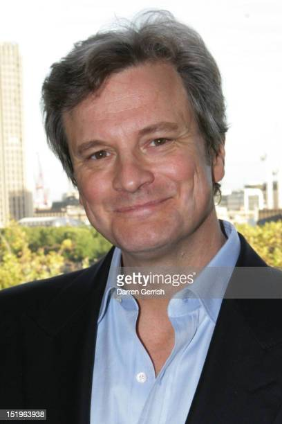 Colin Firth attends a launch party for the Green Cut at Somerset House on September 13 2012 in London England