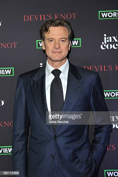 Colin Firth attends 'Devil's Knot' Cast Dinner Presented By Jax Coco At Hudson Kitchen 2013 Toronto International Film Festival on September 8 2013...