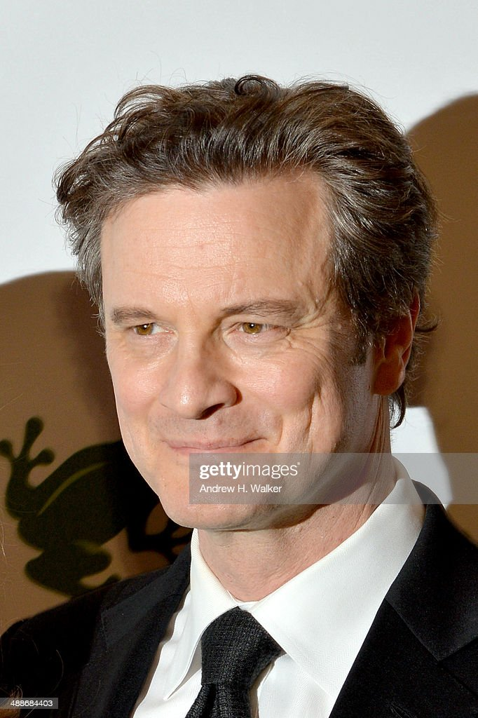 Colin Firth attends the 2014 Rainforest Alliance Gala at American Museum of Natural History on May 7, 2014 in New York City.
