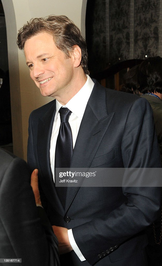 Colin Firth attends the after party for the Los Angeles premiere of 'Tinker, Tailor, Soldier, Spy' at ArcLight Cinemas Cinerama Dome on December 6, 2011 in Hollywood, California.