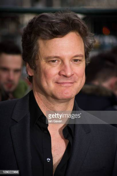 Colin Firth attends the British Academy Film Awards Nominees Brunch at the Corinthia Hotel London on February 12 2011 in London England