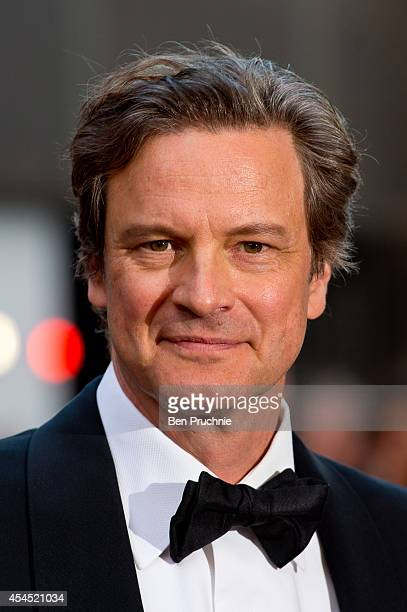 Colin Firth attends the GQ men of the year awards at The Royal Opera House on September 2 2014 in London England