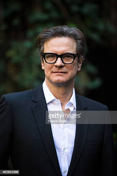 Colin Firth attends the Kingsman Secret Service Rome Photocall on February 2 2015 in Rome Italy