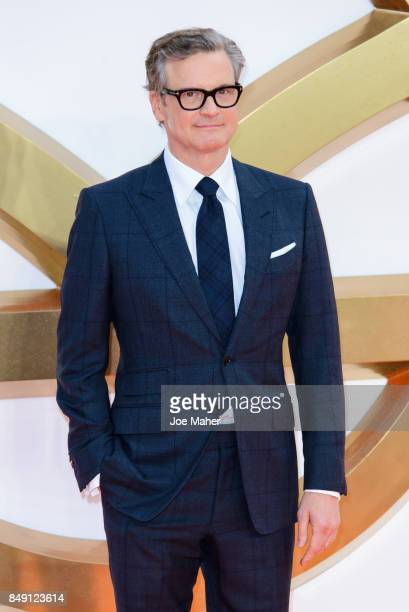 Colin Firth attends the 'Kingsman The Golden Circle' World Premiere held at Odeon Leicester Square on September 18 2017 in London England