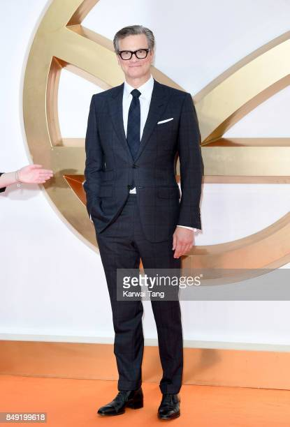Colin Firth attends the 'Kingsman The Golden Circle' World Premiere at Odeon Leicester Square on September 18 2017 in London England