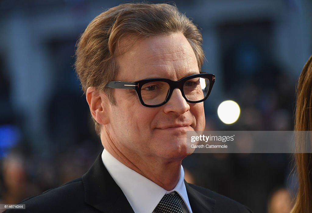 Colin Firth attends the 'Nocturnal Animals' Headline Gala screening during the 60th BFI London Film Festival at Odeon Leicester Square on October 14, 2016 in London, England.