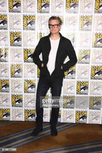 Colin Firth attends the press line for 'Kingsman The Golden Circle' on July 20 2017 in San Diego California