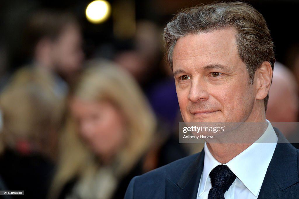 Colin Firth attends the UK premiere of 'Eye In The Sky' on April 11, 2016 in London, United Kingdom.