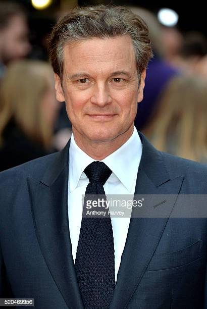 Colin Firth attends the UK premiere of 'Eye In The Sky' on April 11 2016 in London United Kingdom