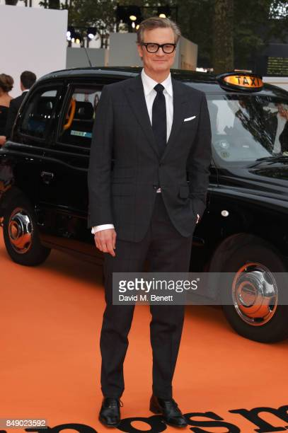 Colin Firth attends the World Premiere of 'Kingsman The Golden Circle' at Odeon Leicester Square on September 18 2017 in London England