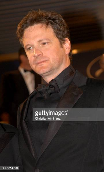 Colin Firth dur...